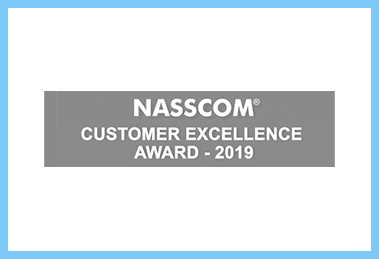 NASSCOM Customer Excellence Award - 2019