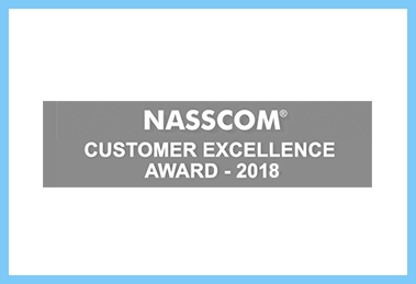 NASSCOM Customer Excellence Award - 2018